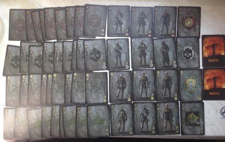 Игральные карты Сталкер
