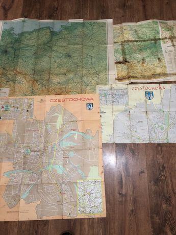 Stare Mapy Polski