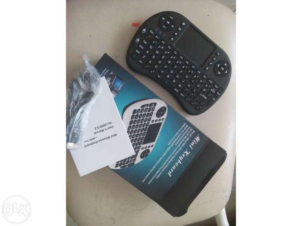 Teclado / rato sem fios para smart TV