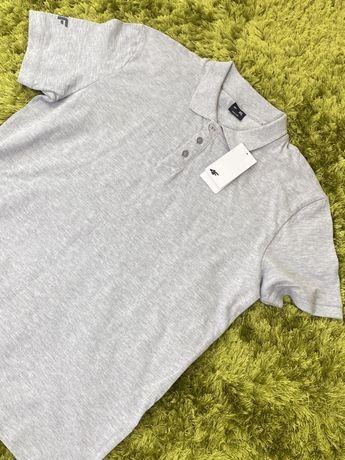 Koszulka Polo Męska Szara rozmiar XL Nowa 4F