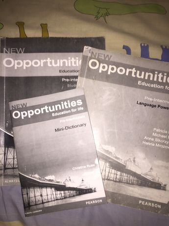 Opportunities pre-intermediate учебник по английскому,рабочая тетрадь