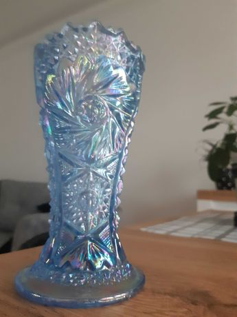 wazon szklany Carnival Glass