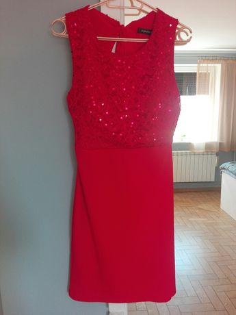 Sukienka wycięte plecy