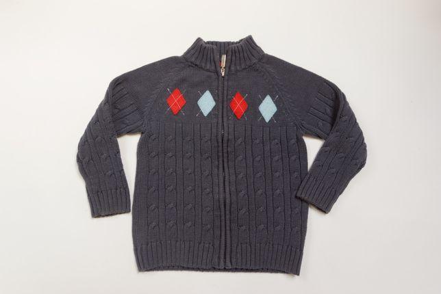 Sweterek rozpinany 5-6 116 st idealny RESERVED