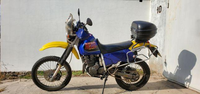 Suzuki Djebel SJ-45A GPS версия - Мотоцикл для внедорожного туризма!