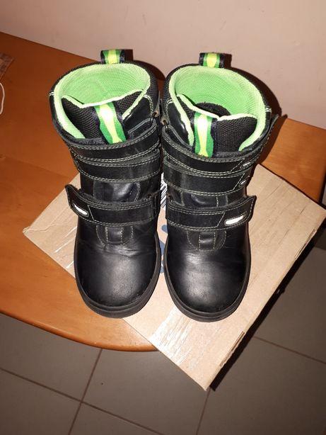 Кожаные ботинки 31 размер