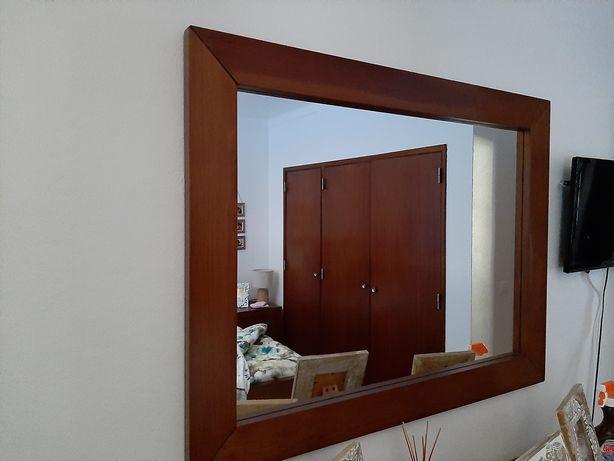 Espelho semi novo