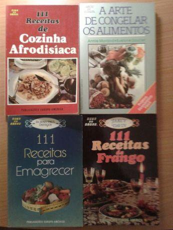111 receitas de Cozinha Afrodisíaca, receitas para emagrecer e outras
