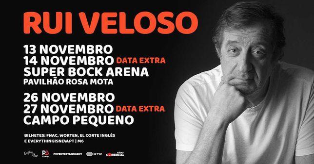 2 Bilhetes Rui Veloso Porto -13/11/2021