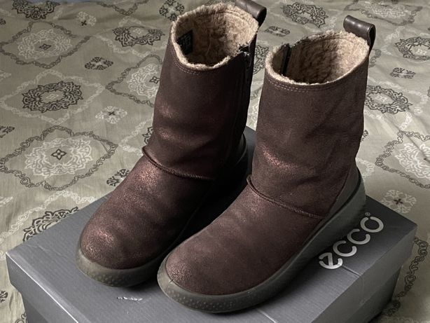 Чоботи сапоги чобітки ecco екко