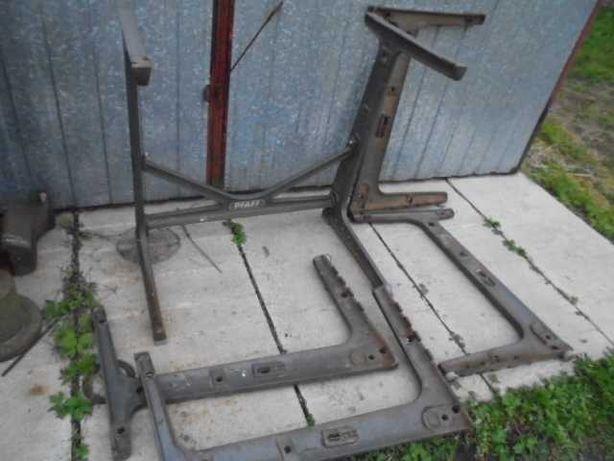stare zabytkowe nogi żeliwne maszyna singer stolik biurko gril łucznik