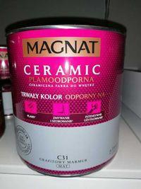 Farba plamoodporna ceramiczna Magnat Ceramic 2,5L C31 farby ceramiczne
