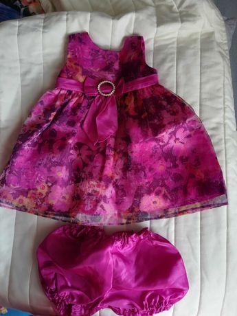 Sukienka dziewczęca 6m+