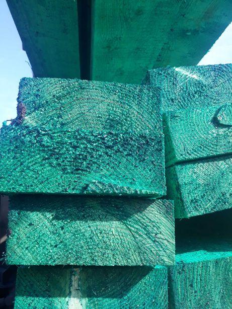 Wieźba dachowa Deski szalunkowe stemple łaty podbitka