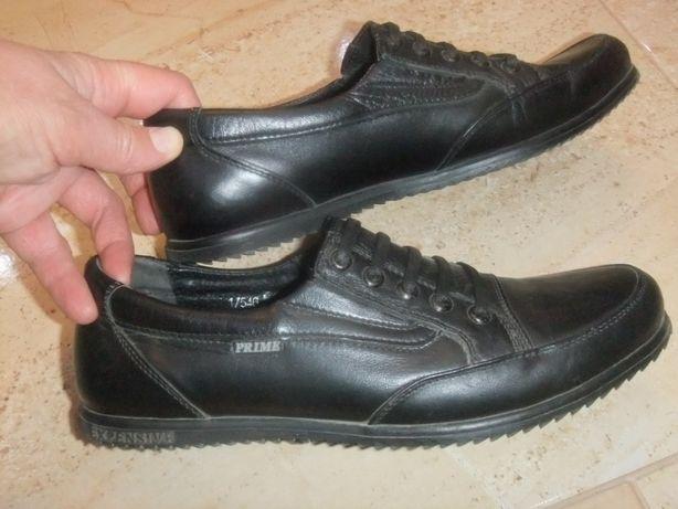 Туфли кожаные 37 размера, Польша, стелька-24 см