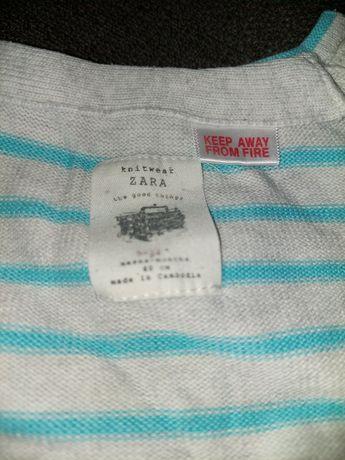 Sweter ZARA rozmiar 80