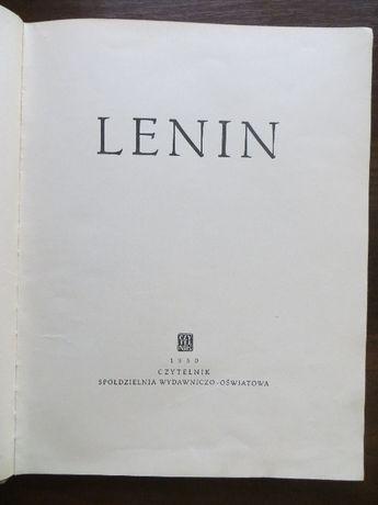 Lenin - album z 1950 r. Unikat!!!