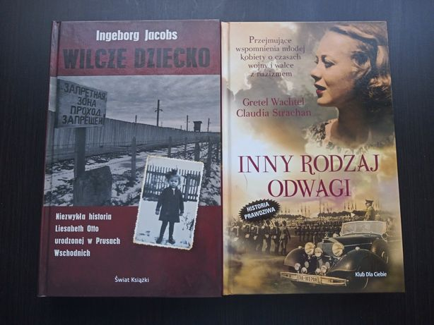 Wilcze Dziecko i Inny Rodzaj Odwagi, 2 książki w zestawie