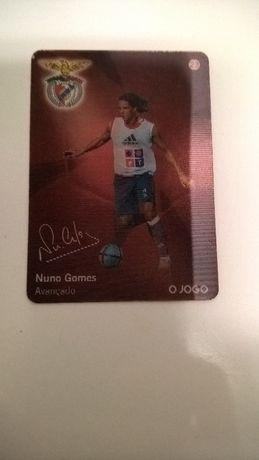 Cartão Nuno Gomes (portes incluídos)