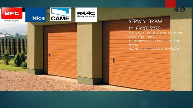 Serwis,montaż, naprawa bram garażowych posesyjnych