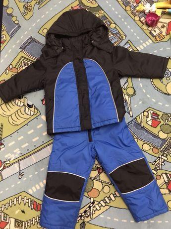 Детский зимний комбинезон bpc(бонприкс) комплект куртка и брюки.