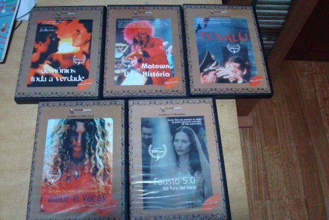 lote 7 dvds originais fantasporto, tuvalu, fausto 5.0 etc