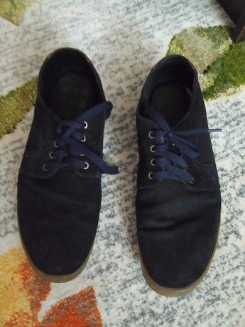 Туфли замшевые 43