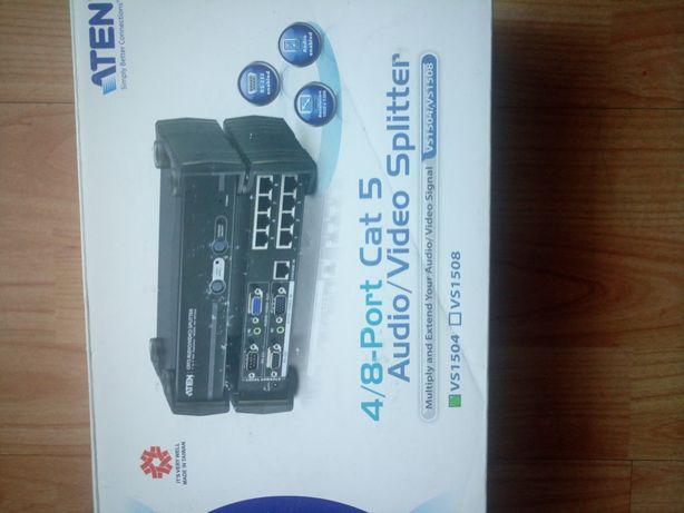 Audio video Rozdzielacz przełącznik sygnału