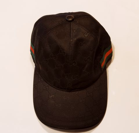 Czapeczka Gucci kolor czarny