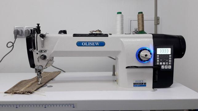 Stebnówka OLISEW krocząca stopa automat ciężkie szycie , tapicer(Juki)