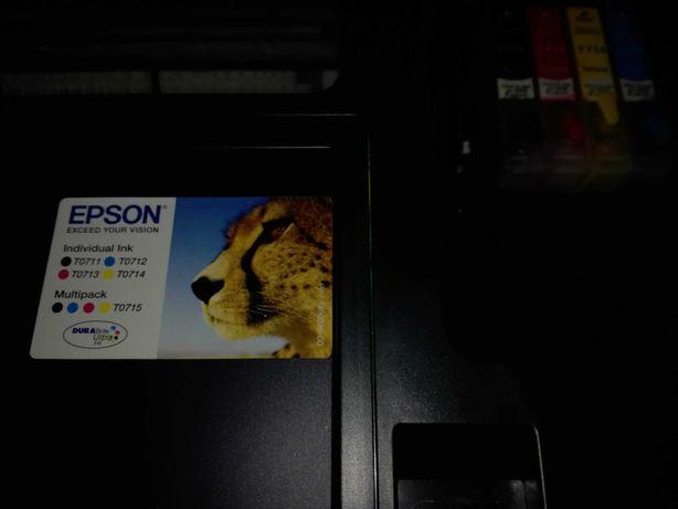 Impressora Epson SX600FW multifunções