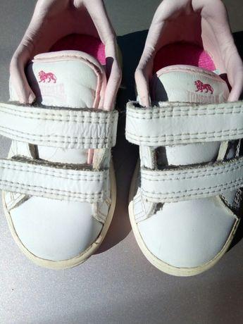 кросовки для девочки,кожа