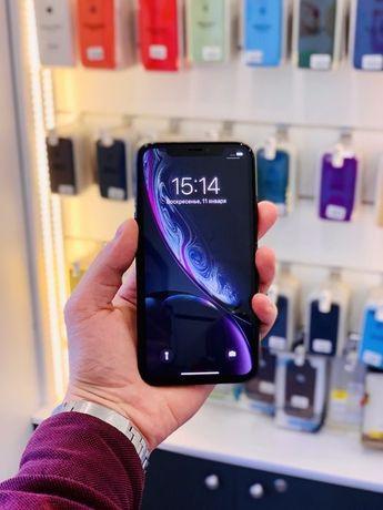 Идеал Iphone XR 64Gb Black Neverlock Оригинал Гарантия Магазин