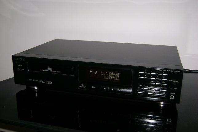 SONY CDP-211 Odtwarzacz CD segment stereo hi-fi Wysyłka