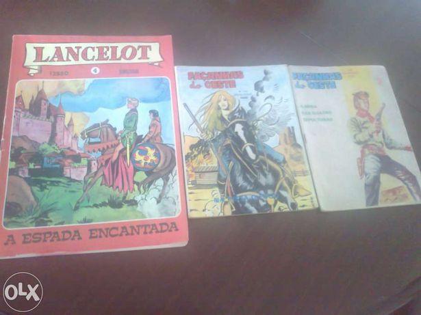 Revistas antigas de Banda Desenhada anos 70