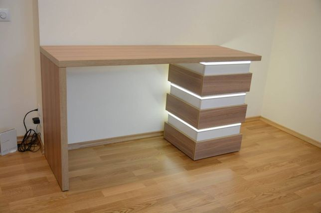 Робочий стіл, письмовий стіл, стіл з тумбою