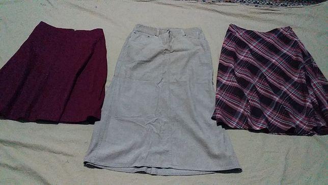 Юбка женская на подкладке- шерсть,-CARRY H&M- S/38- Цена снижена