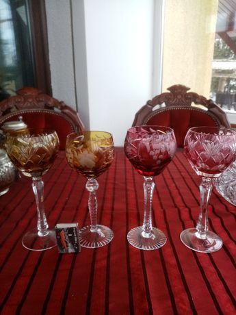 Kieliszki do wina kryształ remery stare antyk