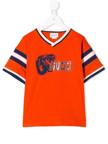 Tshirt Original Boys Tiger Gucci Print T-shirt Kids 3 - 4 anos