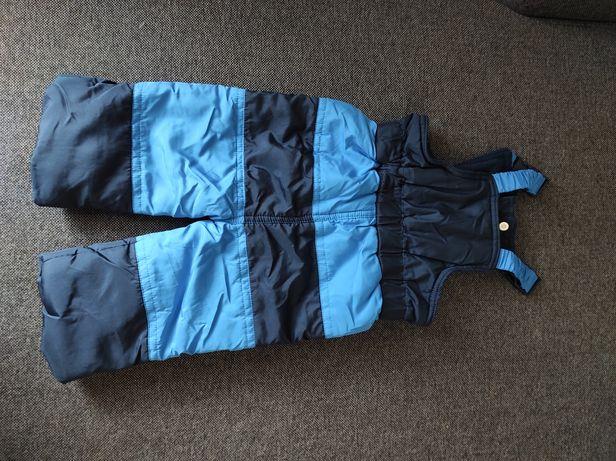 Spodnie zimowe ocieplane dzieciece r. 74/80
