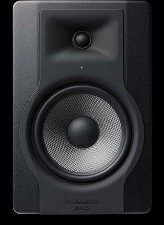 2 colunas/monitores de estúdio ativos M-Audio BX8 D3