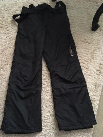 Лыжные подростковые штаны на подтяжках CRIVIT,146/152,полукомбинезон