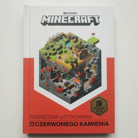 podręcznik użytkowania czerwonego kamienia MINECRAFT mojang prezent