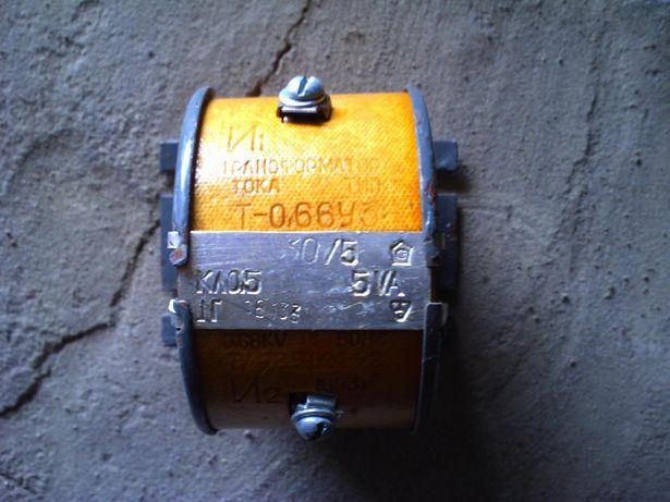 Трансформатор тока т-0,66 30/5