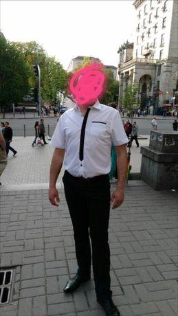 Продам мужскую рубашку с коротким рукавом