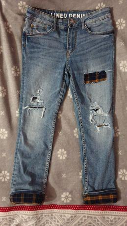 Утепленные джинсы на мальчика H&M