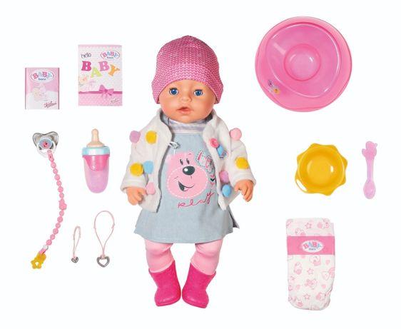 Кукла Baby Born Беби Борн Нежные объятия Zapf Стильный лук 826690