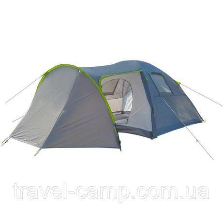 Палатка четырехместная Green Camp 1009-2, на 2 входа
