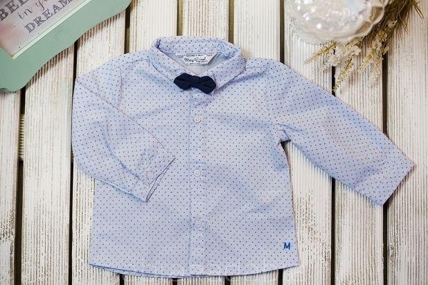 Koszula z muchą dla chłopca MAYORAL r.80