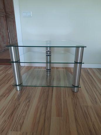 Stolik szklany pod telewizor